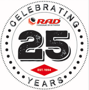 RAD 25 years of torque wrenches
